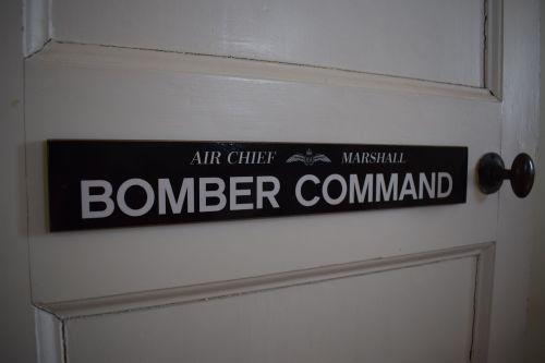 Bomber Command Door Plaque