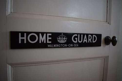Home Guard - Walmington-on-Sea Door Plaque