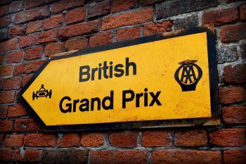AA Roadsign - British Grand Prix