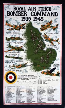 Bomber Command Tea Towel