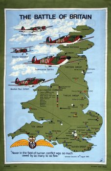 Battle of Britain Tea Towel
