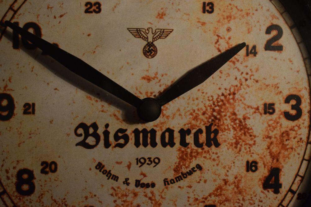 Bismarck Wall Clock Nazi Clocks Bismarck Clock Wwii