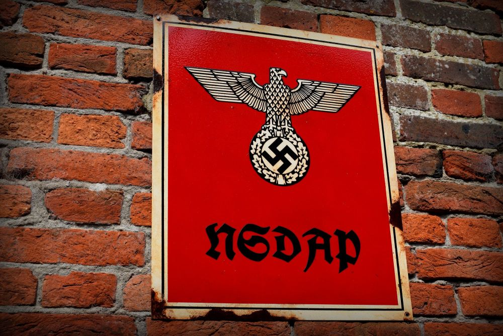 N S D A P Sign Nazi Party Sign Wwii Nazis Hitler Party
