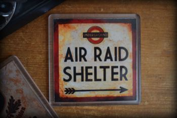 Air Raid Shelter - Acrylic Coaster