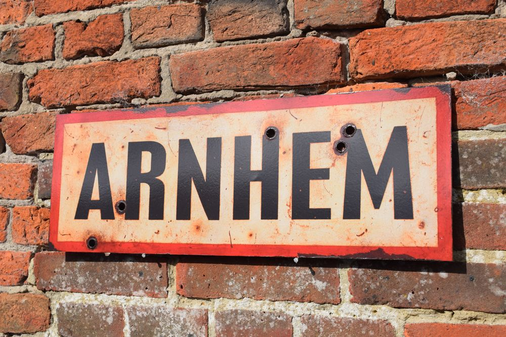 Arnhem Display Sign