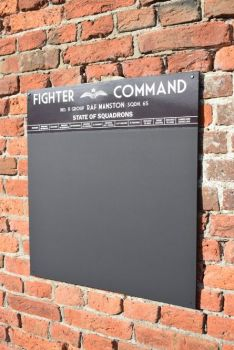 RAF Fighter Command Chalkboard