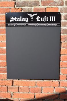 Stalag Luft III Chalkboard