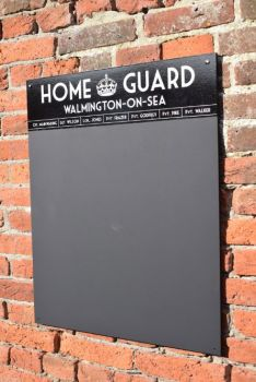 Home Guard Chalkboard