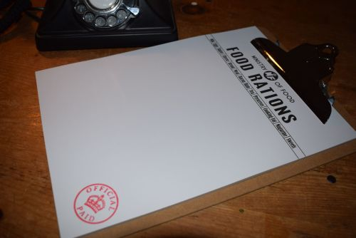 Ministry of Food Clipboard/A4 notepads