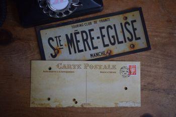 Ste Mere-Eglise Postcards (x6)