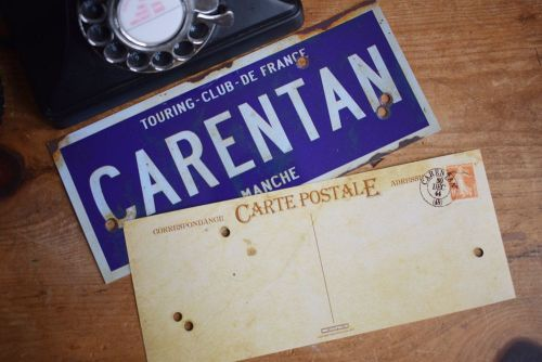 Carentan Postcards (x6)