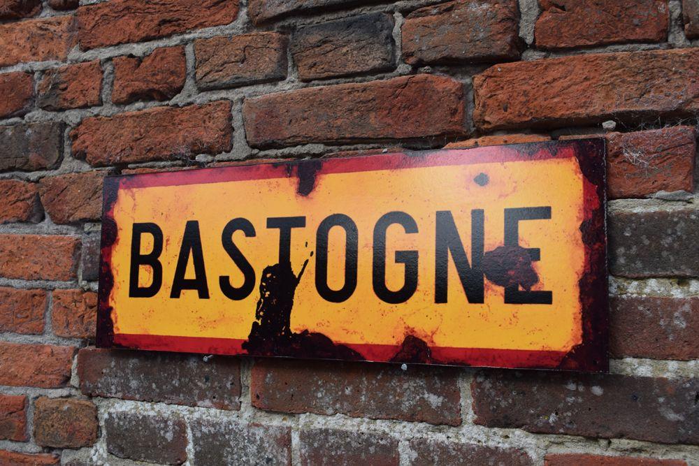 Bastogne Display Sign