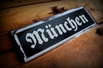 München Fridge Magnet