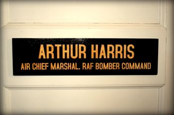 Arthur Harris Office Door Plaque