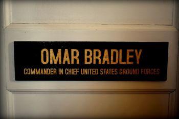Omar Bradley Office Door Plaque