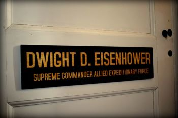 Dwight D. Eisenhower Office Door Plaque