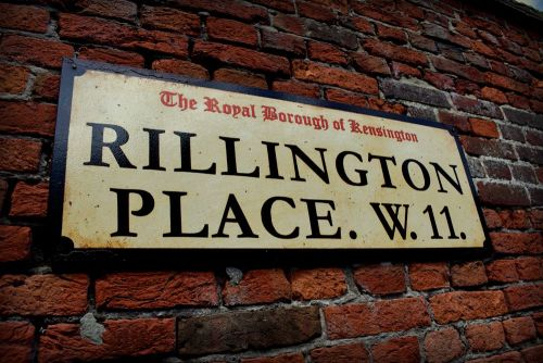 Rillington Place street sign