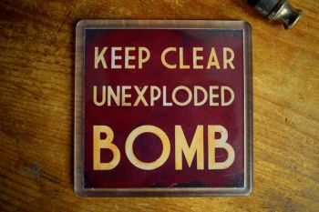 Keep Clear UXB - Acrylic Coaster