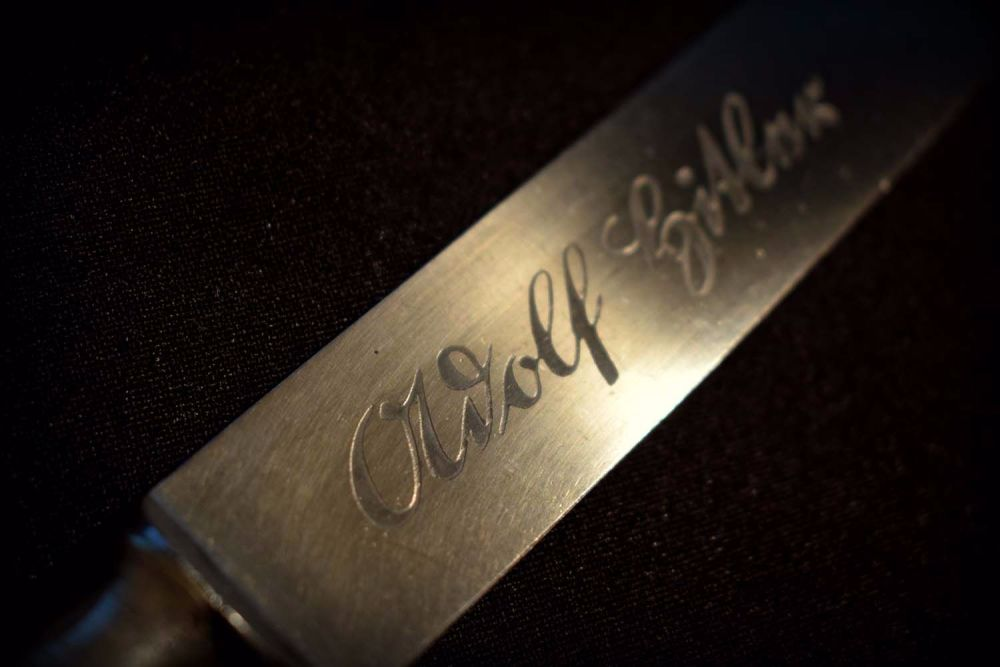 Adolf Hitler Knife - Rostfrei (9)