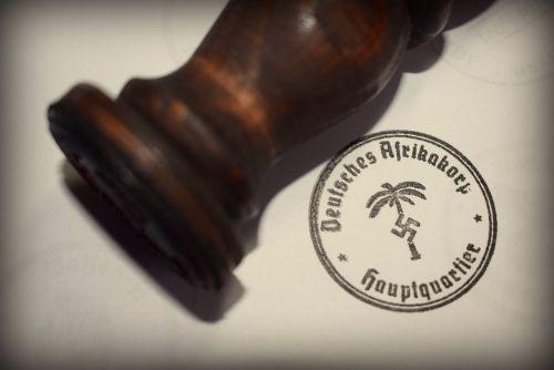 Africa Korp Rubber Stamp