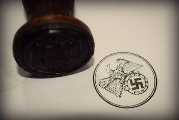 Völkischer Beobachter Rubber Stamp