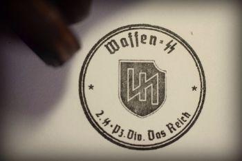 Das Reich Rubber Stamp