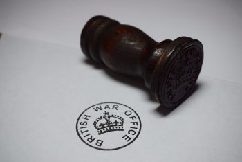 British War Office Rubber Stamp