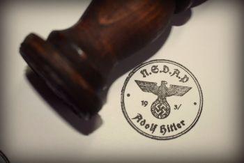 N.S.D.A.P Adolf Hitler Rubber Stamp