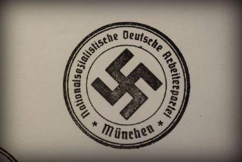 N.S.D.A.P. München Rubber Stamp
