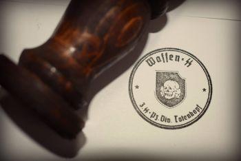 Totenkopf Rubber Stamp