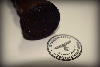 Kriegsmarine U-Boot Rubber Stamp