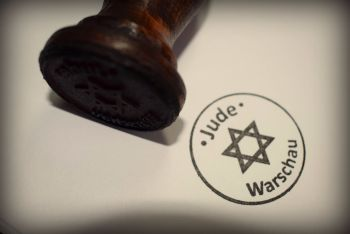 Jude Warschau Rubber Stamp