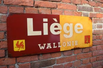 Liege Vintage City Sign