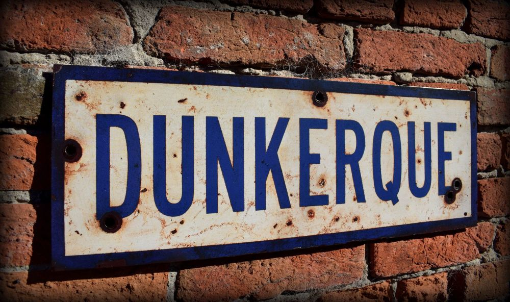 Dunkirk Display Sign 1k-001