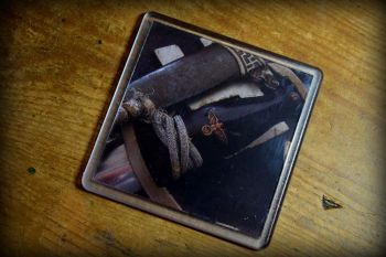Nazi Dagger - 01 - Acrylic Coaster