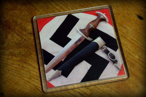Nazi Dagger - 02 - Acrylic Coaster