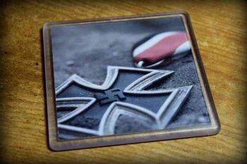 Iron Cross-01 - Acrylic Coaster