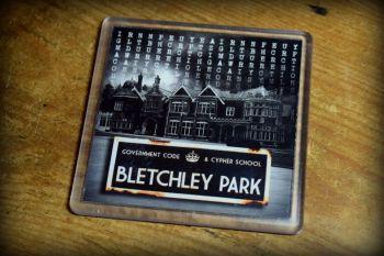 Bletchley Park-01 - Acrylic Coaster