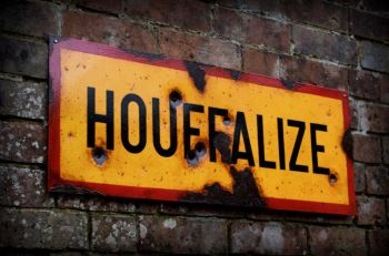 Houffalize steel sign