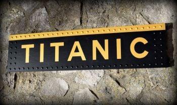 Titanic Sign Wood (9)
