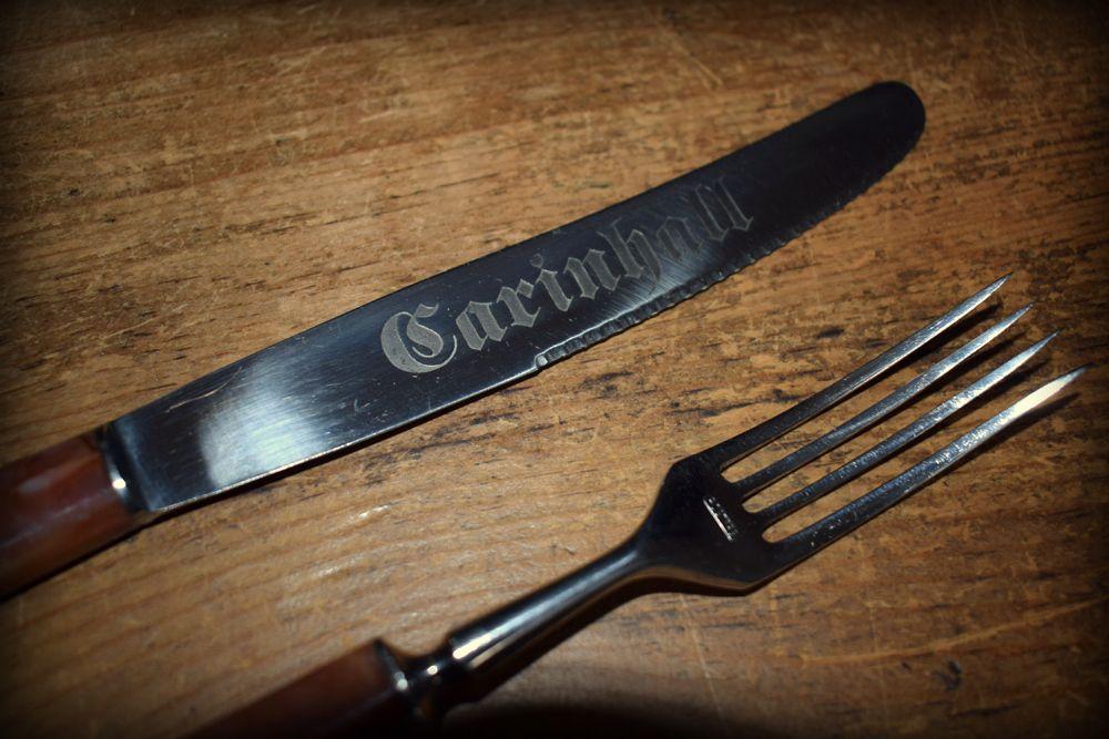 Carinhall Knife and Fork set