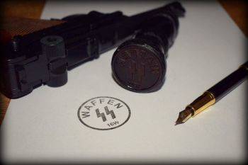 Waffen SS Rubber Stamp