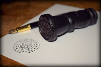 US Army Rubber Stamp