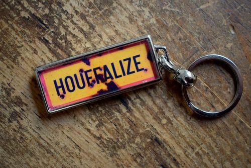 Houffalize Key Ring