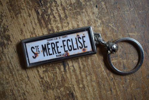 St. Mere Eglise Key Ring