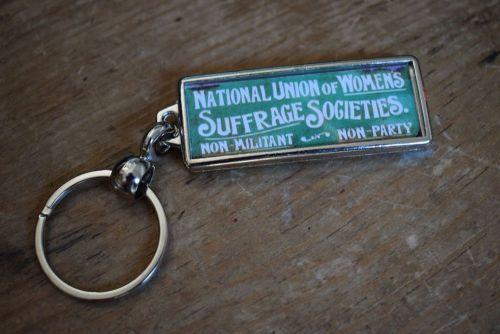 Suffragette Key Ring