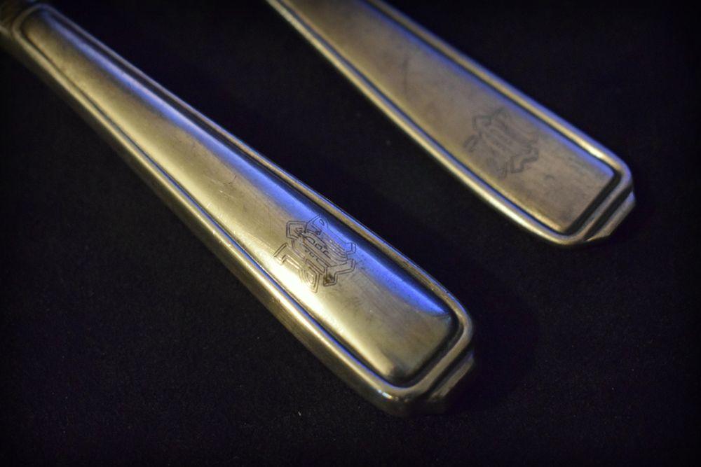 Leibstandarte Adolf Hitler Knife and Fork (pair)