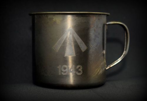 1943 Stainless Steel Mug