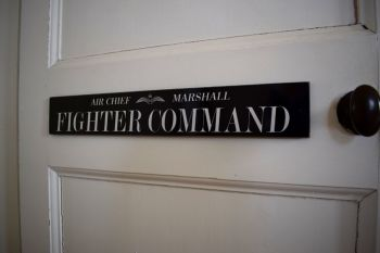 Fighter Command Door Plaque
