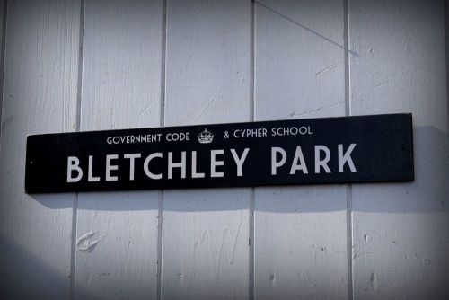 Bletchley Park -  Door Plaque